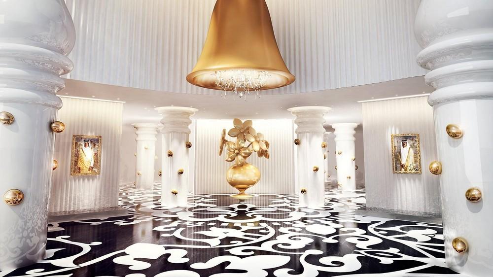 Marcel wanders luxury hotel project mondrian doha one for Luxury hotel project