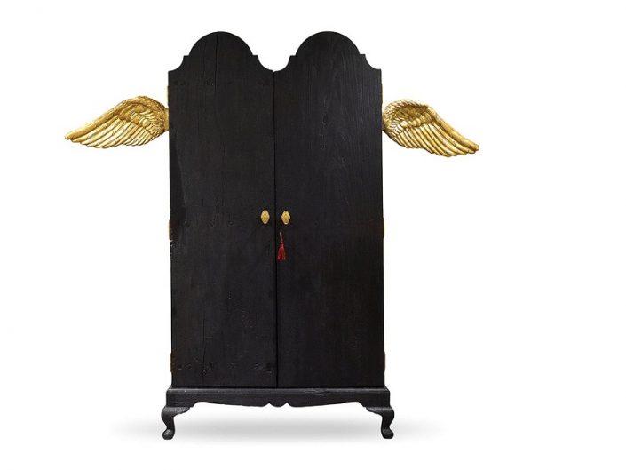 DARK ANGEL ARMOIRE BY SCARLET SPLENDOUR