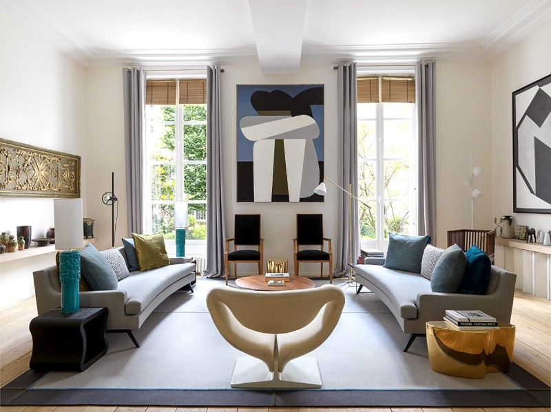 Paris In 100º The 10 Top Interior Designers One Hundred Edition