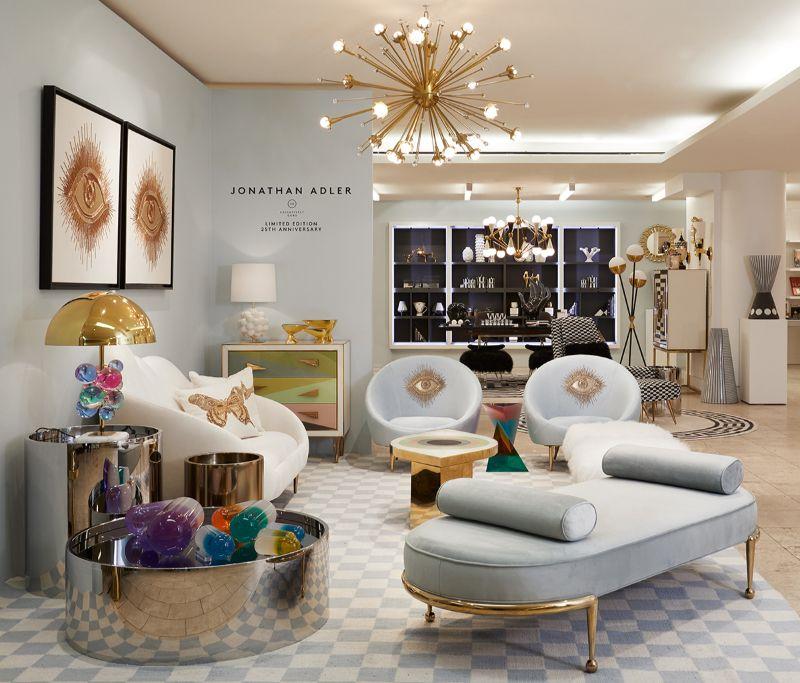 Top Interior Designer Jonathan Adler, Jonathan Adler Furniture