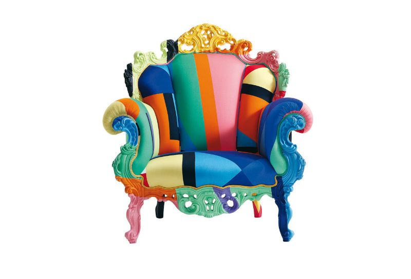 alessandro mendini Alessandro Mendini's Colourful And Contemporary Furniture Designs Alessandro Mendini chair