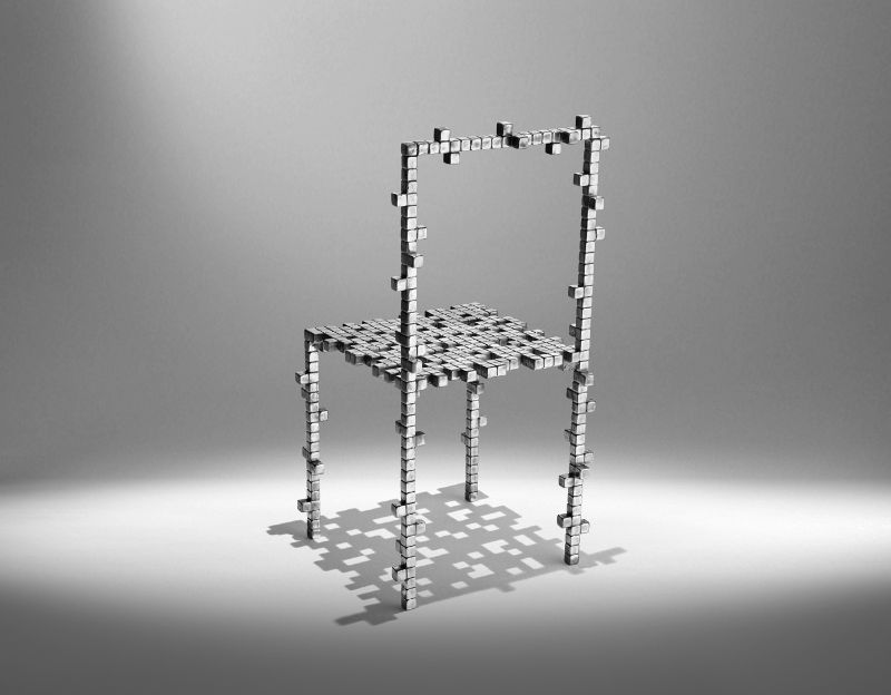 100 Top Product Designer: Studio Nucleo studio nucleo Studio Nucleo's Most Remarkable Projects And Creative Works    Presenze    aluminium chair