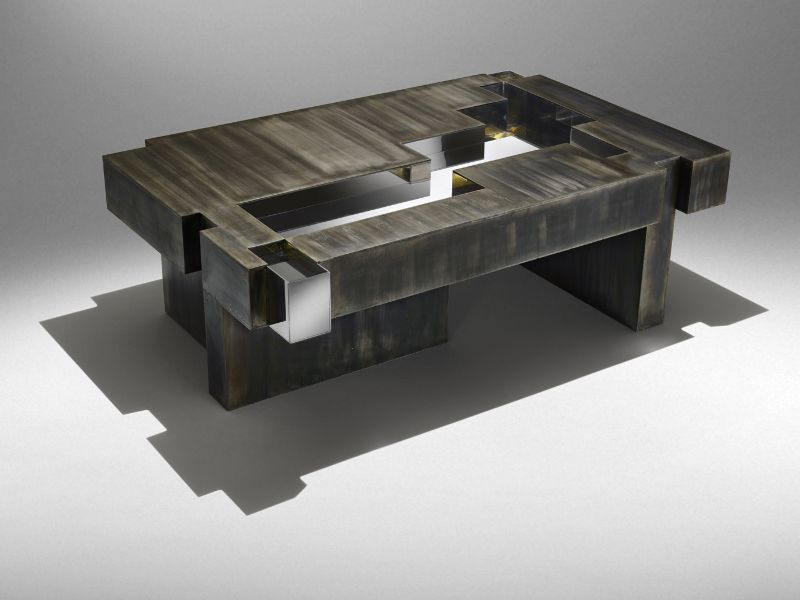 studio nucleo Studio Nucleo's Most Wonderful Art Furniture Creations    Metals    Iron Age coffee table