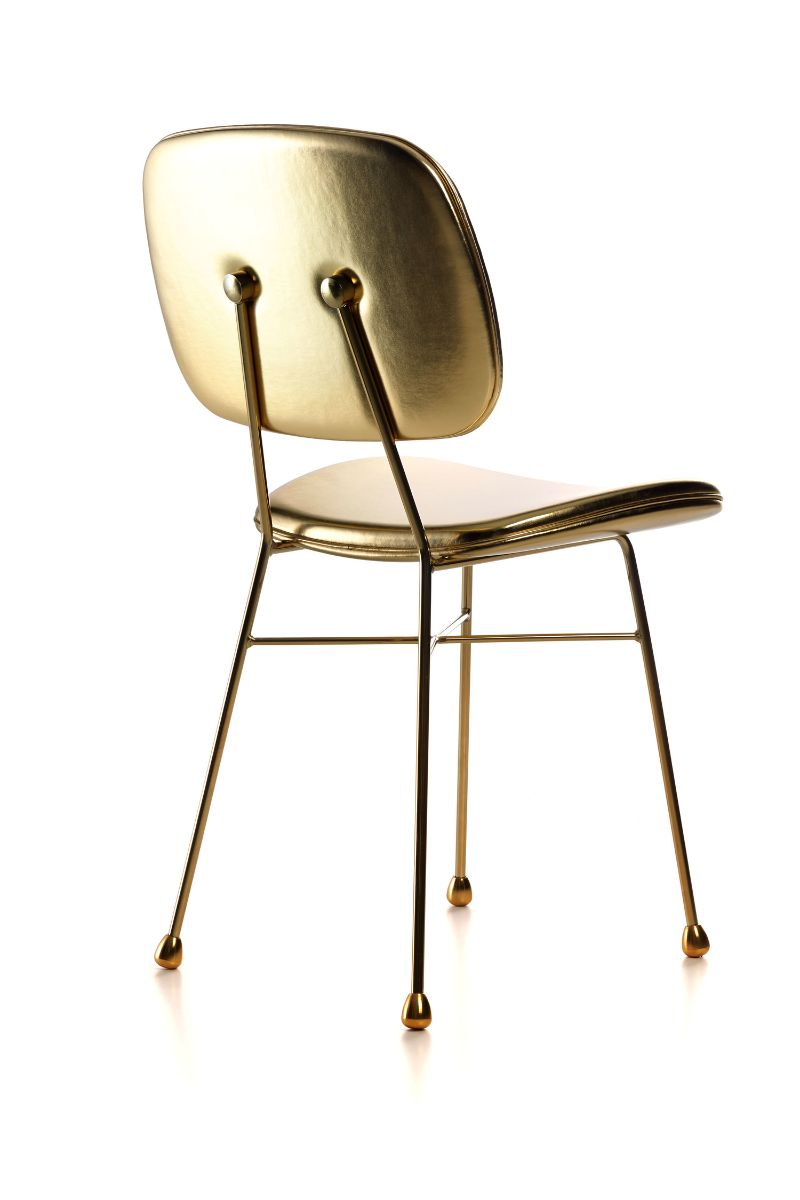 nika zupanc A Feminine Aesthetic In Art Furniture Brought By Nika Zupanc The Golden Chair