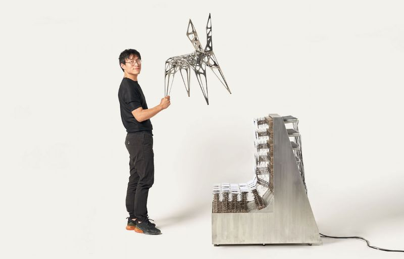 100 Top Product Designer: Zhoujie Zhang zhoujie zhang Zhoujie Zhang Merges Digital Design With Art Furniture Zhoujie Zhang 1